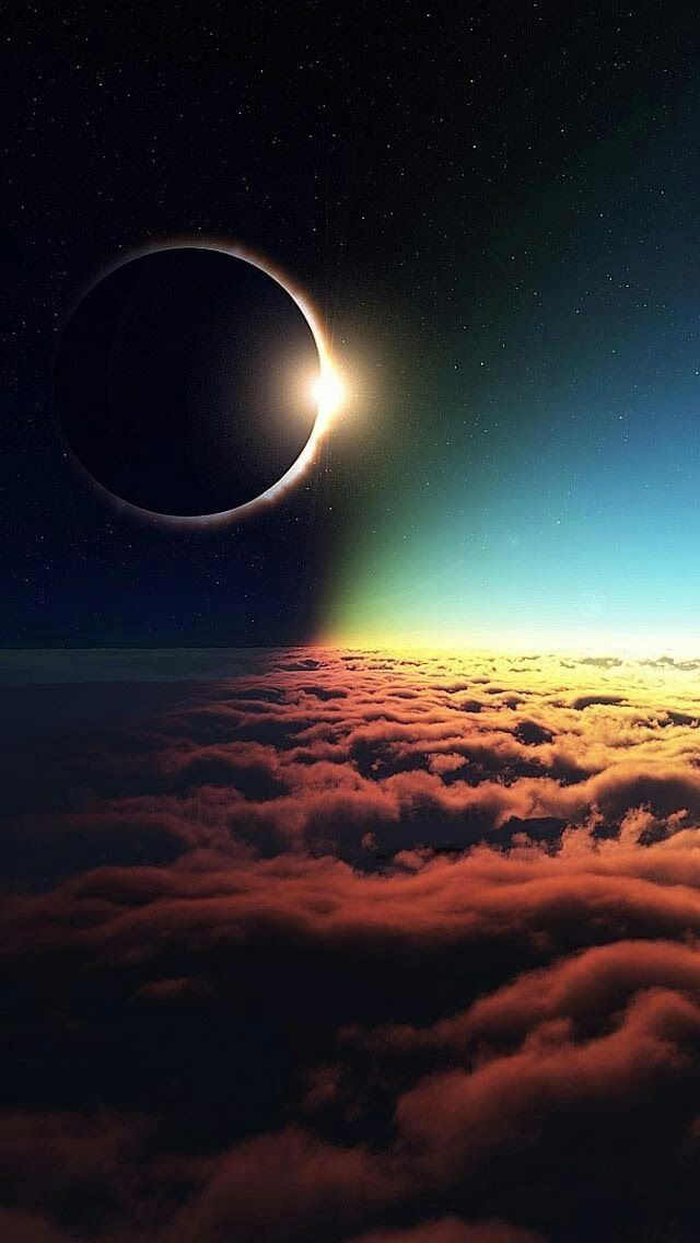Eclipse photo in 2019 nature iphone wallpaper ipod - Surreal screensavers ...