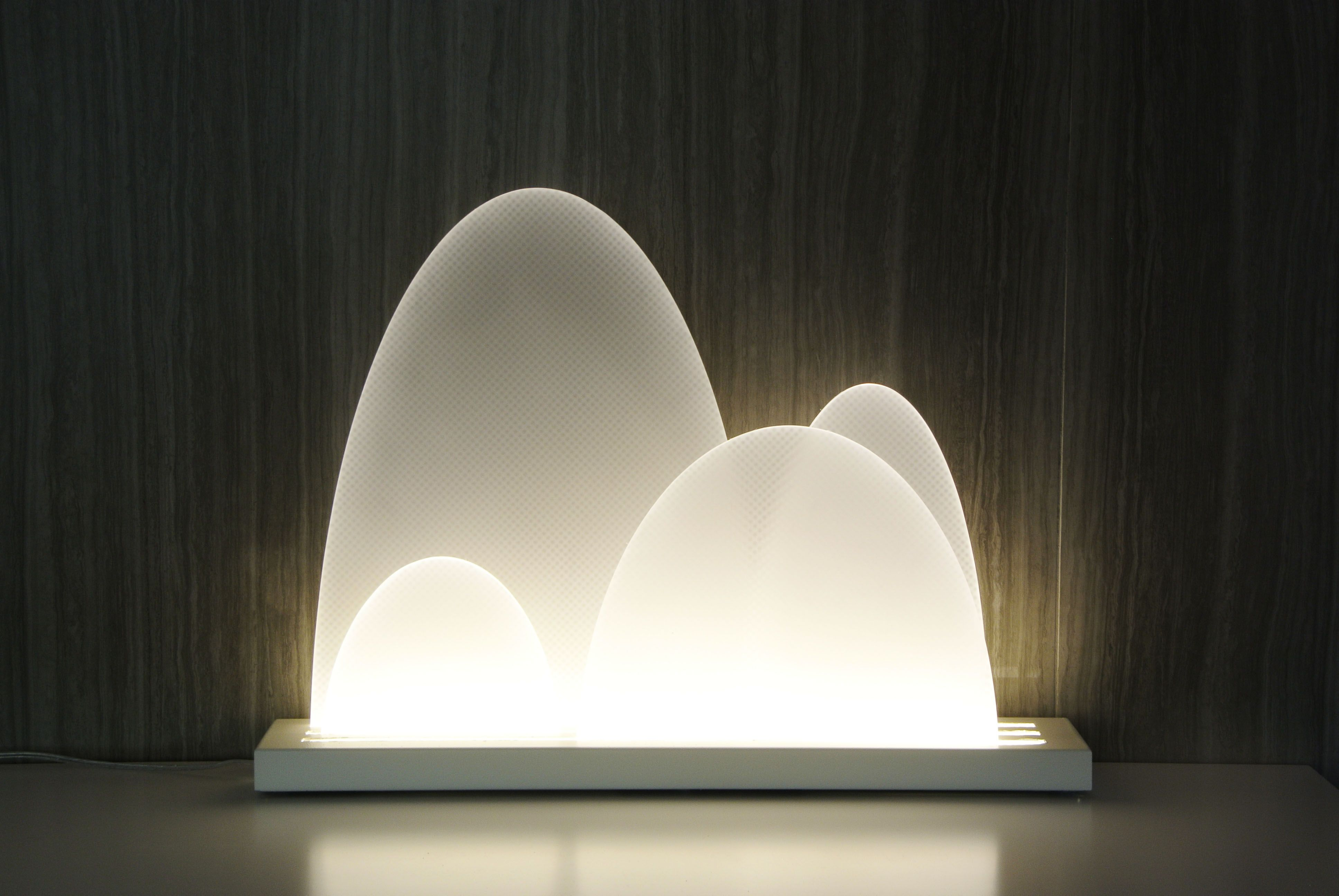Pin by COC KY on GUILIN-The planet first environment cleansing lamp | Environmental design. Contemporary design. Wall lights