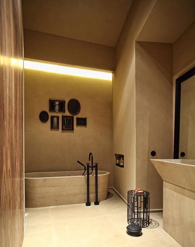 4ce372f48c 30 idee per l'illuminazione bagno | ARCH_residencias | Farmhouse ...