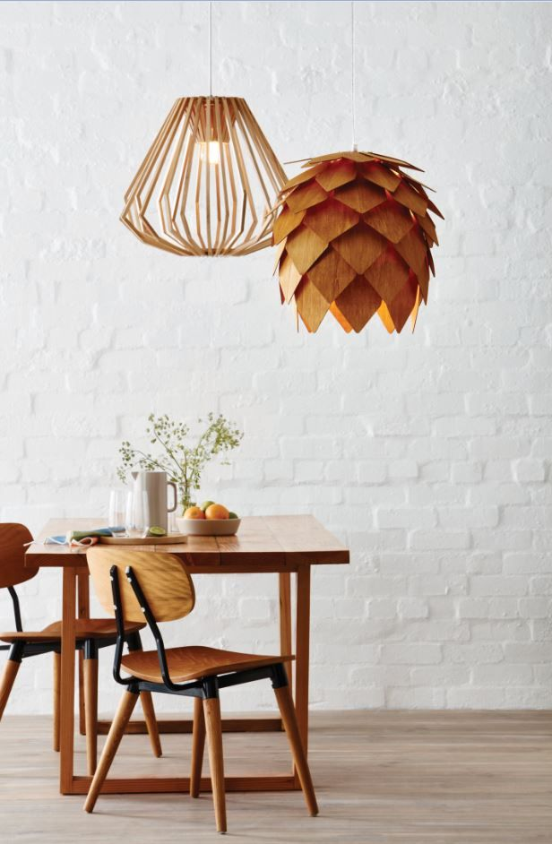 Make A Statement With These Distinctive Natural Pendants Bunnings Pendant Decor Chandelier In Living Room Mid Century Ceiling Lamp
