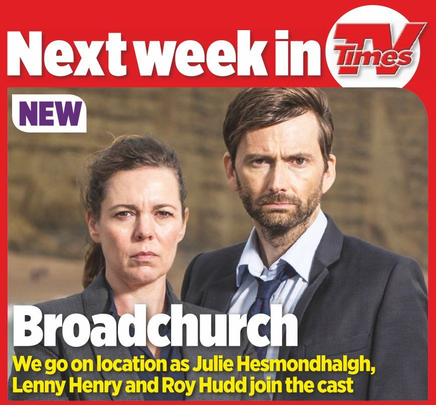 Broadchurch Previews In Next Weeks Tv Listings Magazines Although