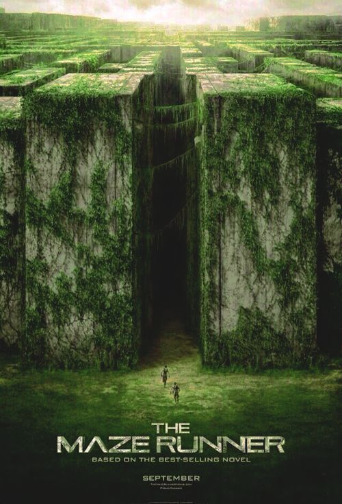 The Maze Runner Movie Poster 2014 Pg 13 Action Mystery Sci Fi