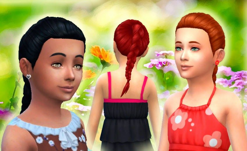 girls hair style picture mystufforigin pony braid for sims 4 cc sims 7351 | 7351cbbbb5e5d6c6549d2d38730754b5