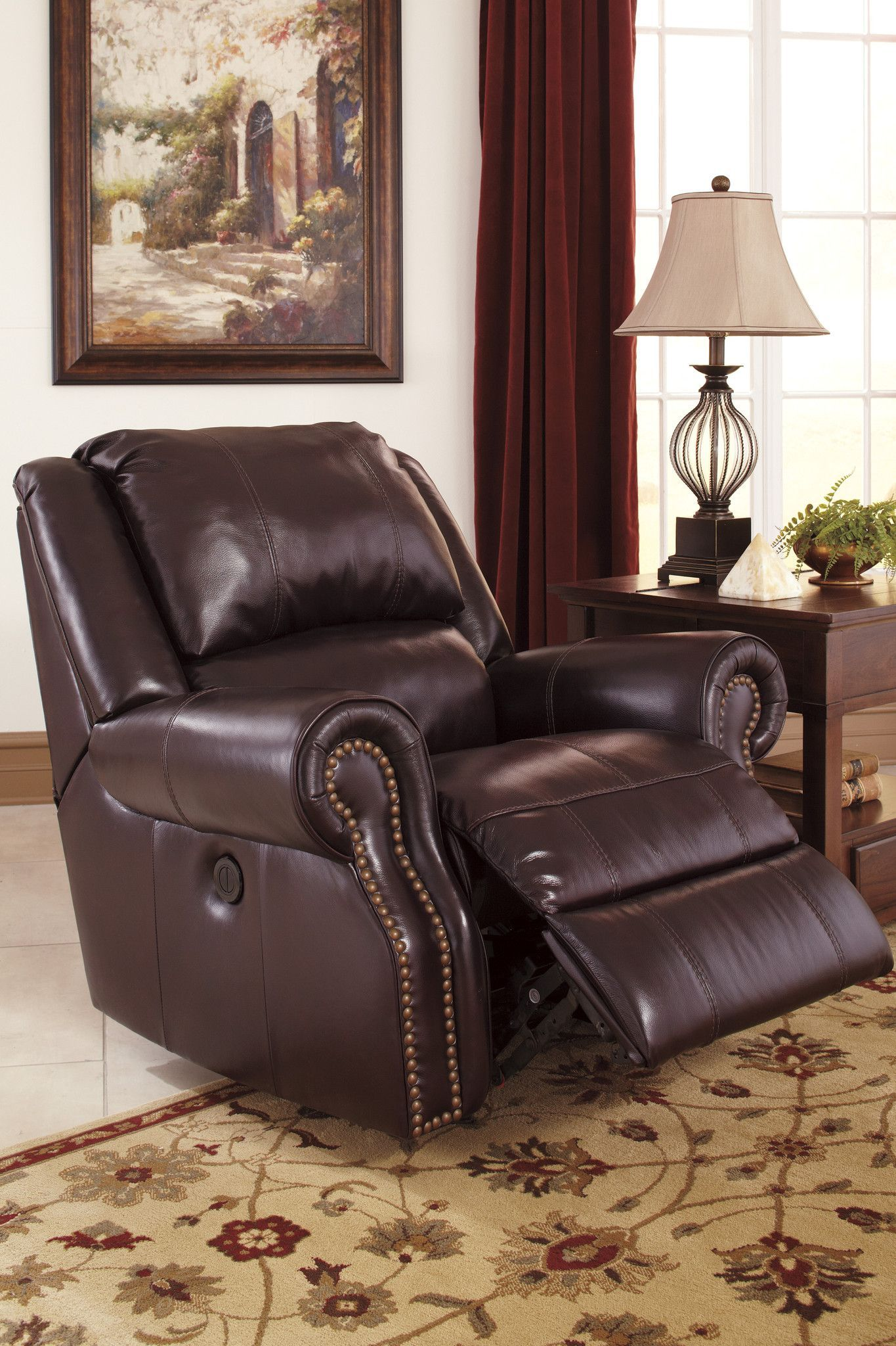 Walworth Power Recliner by Ashley Furniture at Kensington Furniture ...