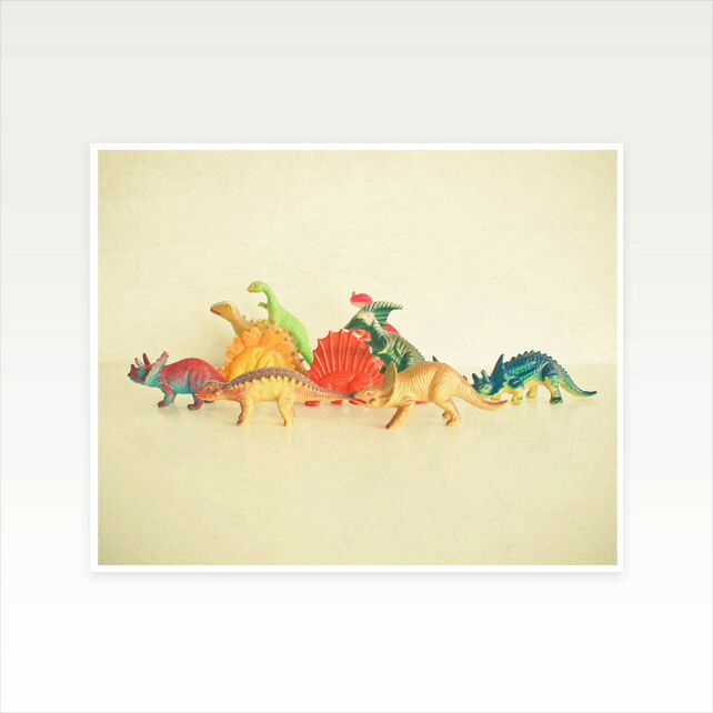 Kids Dinosaur Art, Childrens Wall Art, Kids Decor, Retro Wall Art ...