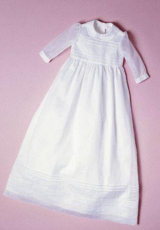 burda style, Schnittmuster für Babys - Langes Taufkleid mit langen ...