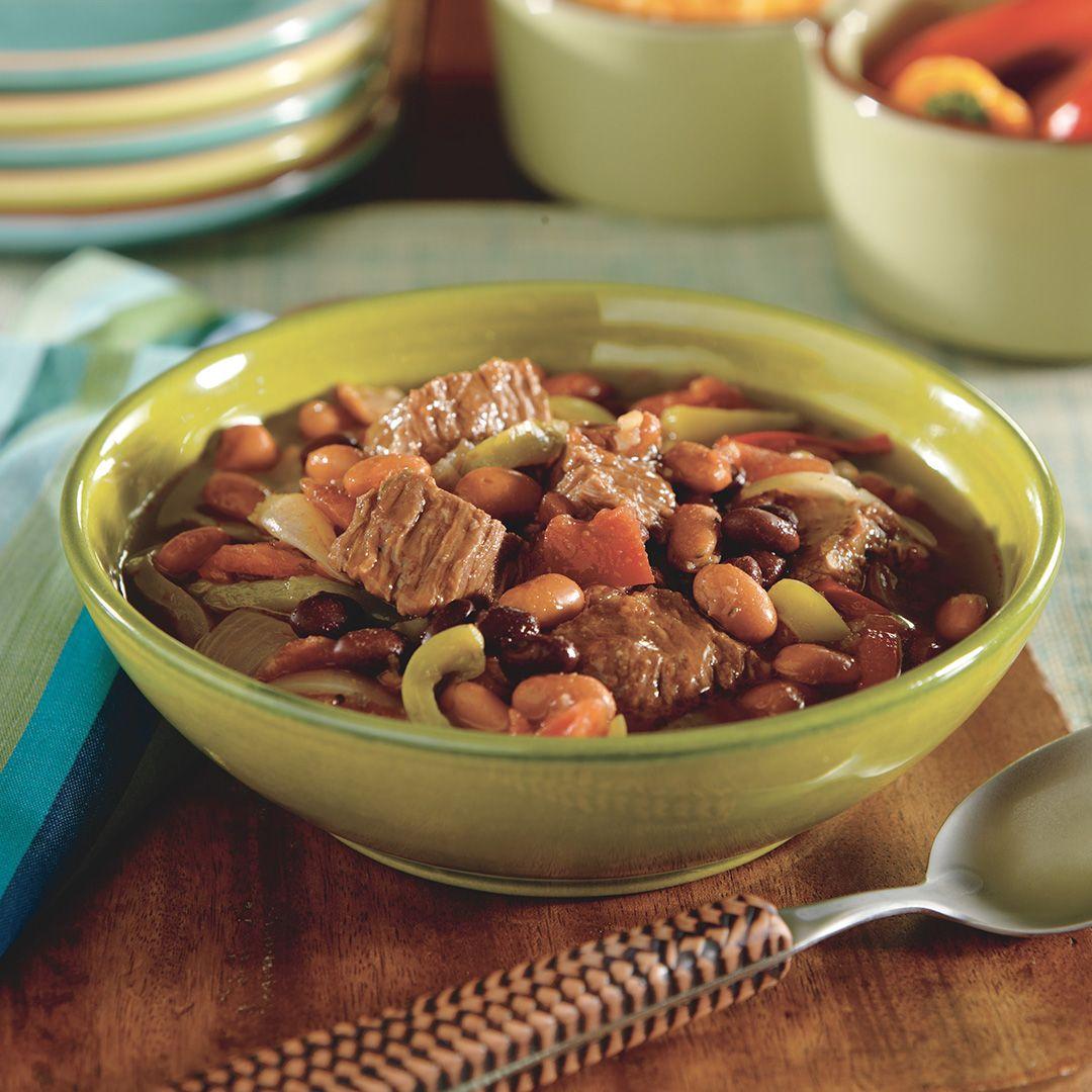 Beef Fajita Soup - Instant Pot Recipes