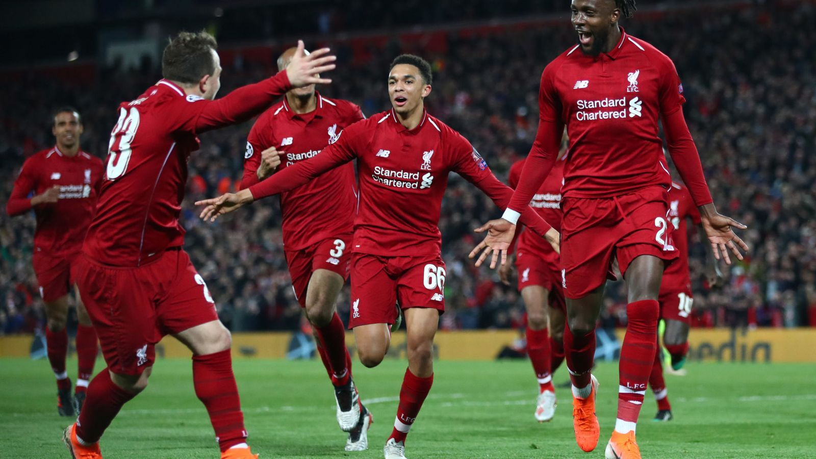 What A Comeback Liverpool Score Four Against Barcelona To Go Through To Champions League Final Champions League Barcelona Champions League Champions League Final
