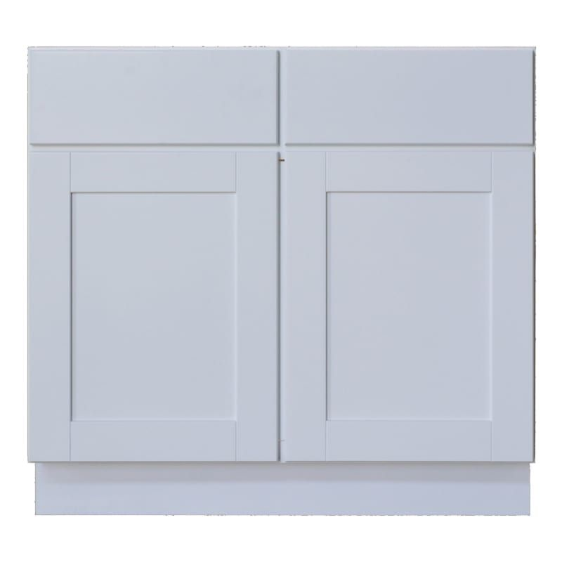 Sunny Wood Shb36s A Shaker Hill 36 Double Door Sink Base Cabinet