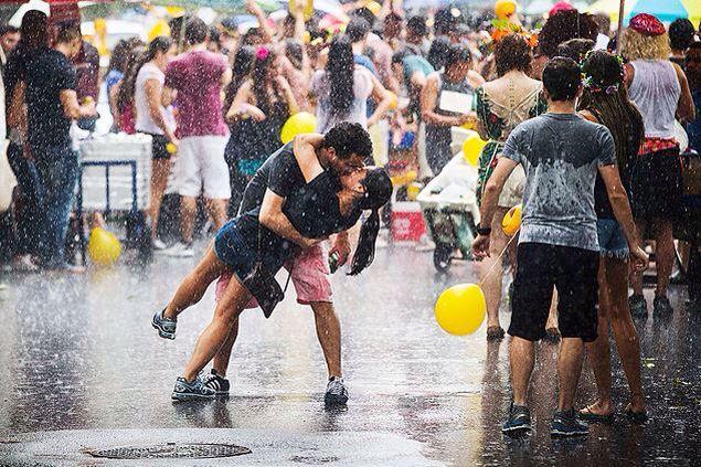 Carnaval em São Paulo, cara de dia dos namorados ❤️