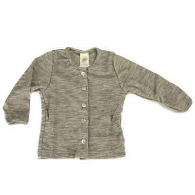 6e1652db Cardigan til baby i uld/silke fra tyske Engel - Cardiganen er 100% økologisk