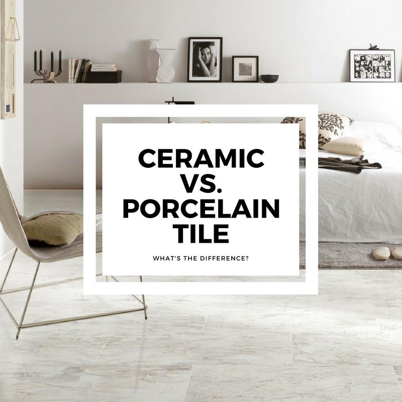Porcelain Vs Ceramic Tile What S The Difference Builddirect Learning Center Porcelain Tile Ceramic Floor Tiles Porcelain Vs Ceramic Tile