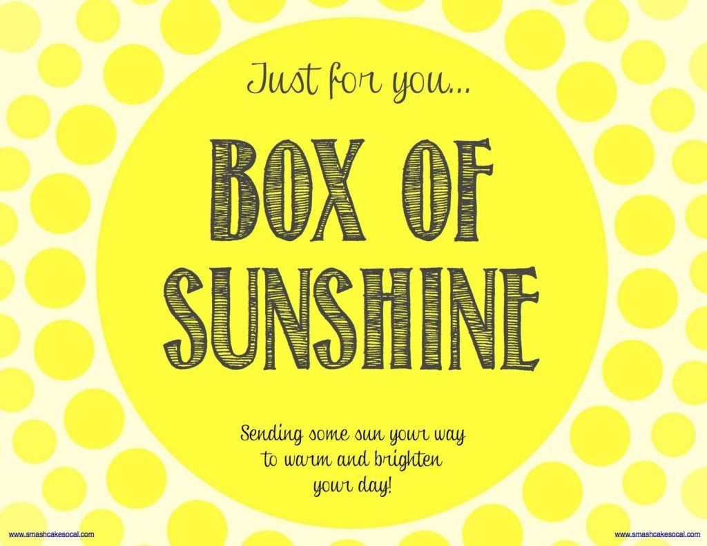 Box of sunshine free digital download box of sunshine