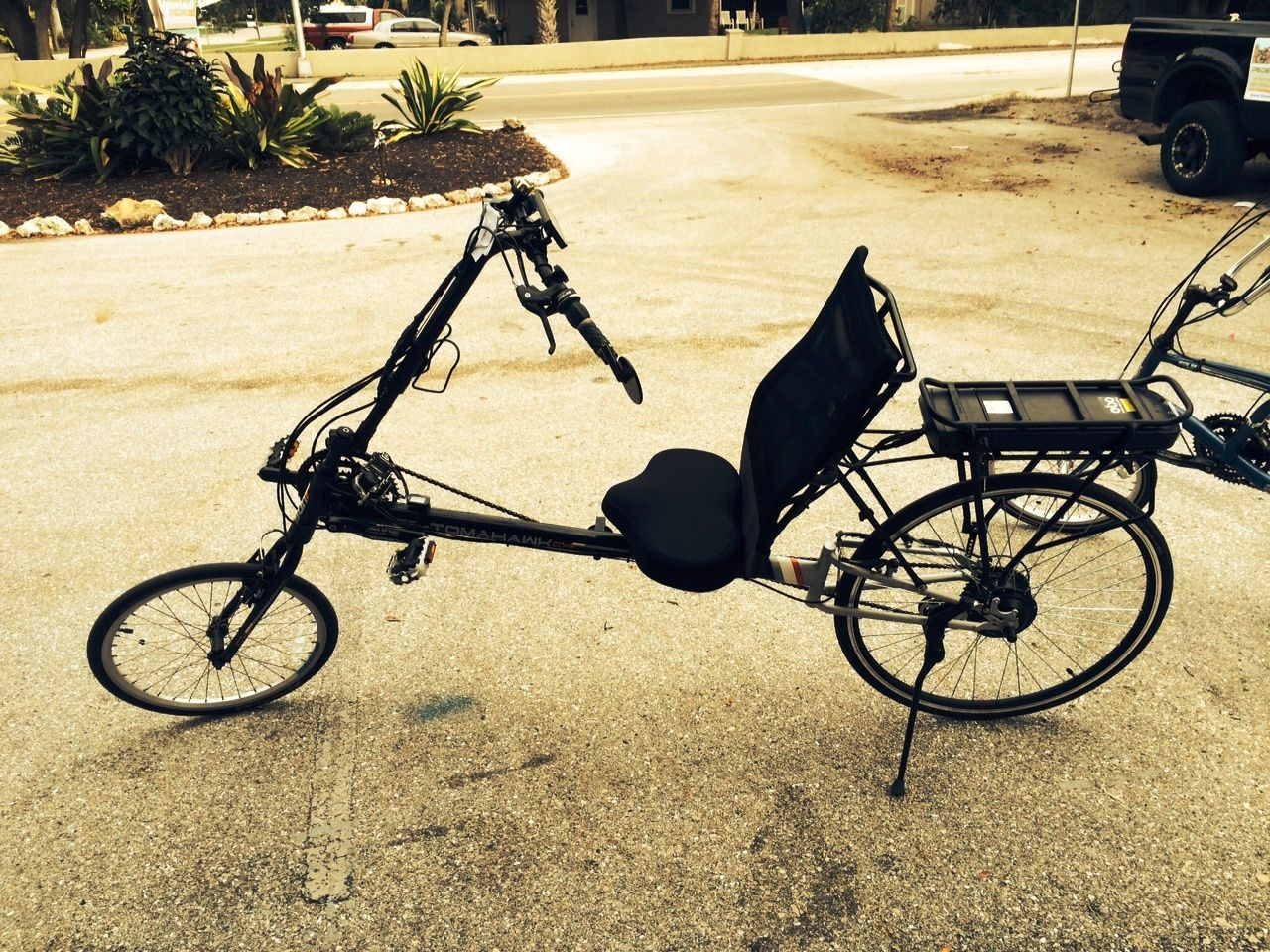 Electric Bike Outfitters Cruiser E Bike Conversion Kits Installed On An Ez Sport Cx Recumbent Bike Electric Bike Electric Bike Kits Bike
