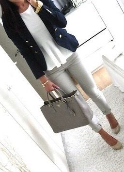 best 25 navy blazer grey pants ideas on pinterest gray pants makeup to suit grey hair and. Black Bedroom Furniture Sets. Home Design Ideas