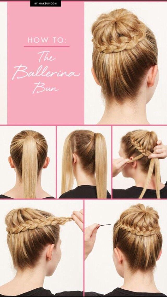 Braided Bun Made Easy Hair Styles Braided Hairstyles Updo Long Hair Styles