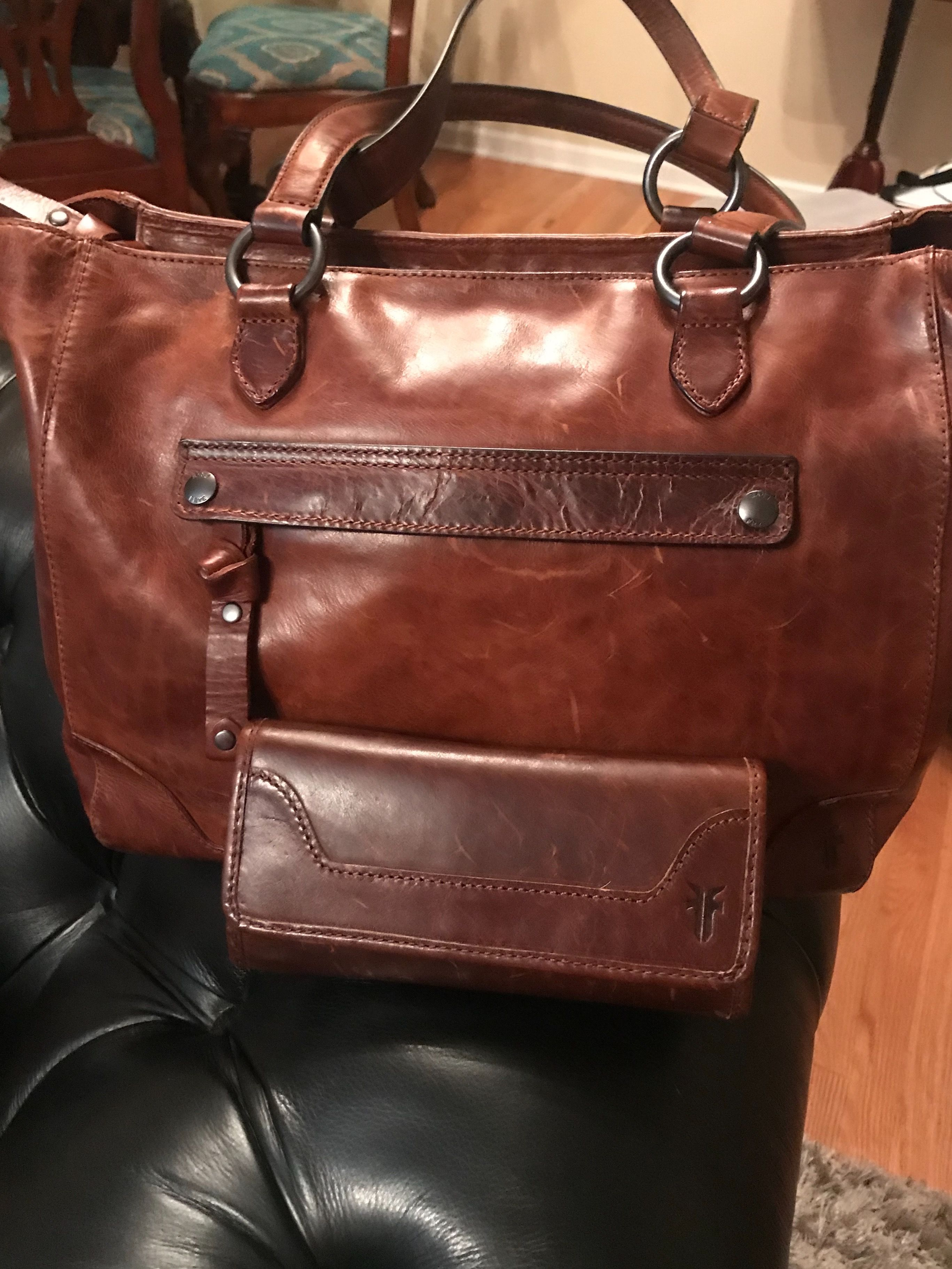 0a6968aa38acc6 Frye (Melissa Zip Tote in Cognac) Judy Curtis | Tory Burch and other ...