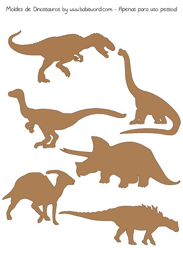 Moldes De Dinossauros 211x300 Projeto 365 Dias 041 E 042 Festa