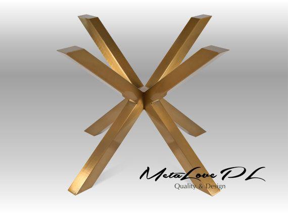 Merveilleux 28 XSAVI 70.70 GOLD Unique Table Base, Height 26   30 MEASUREMENTS: Width: