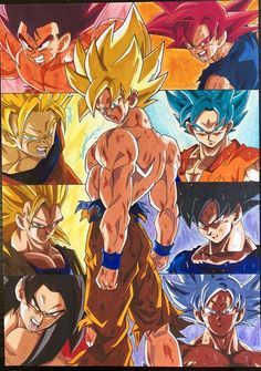 Pin By Maverick On Dragon Ball Z Gt Super In 2020 Anime