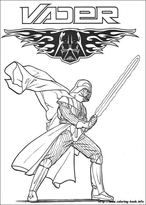 Star Wars coloring picture | STAR WARS | Pinterest | Páginas para ...