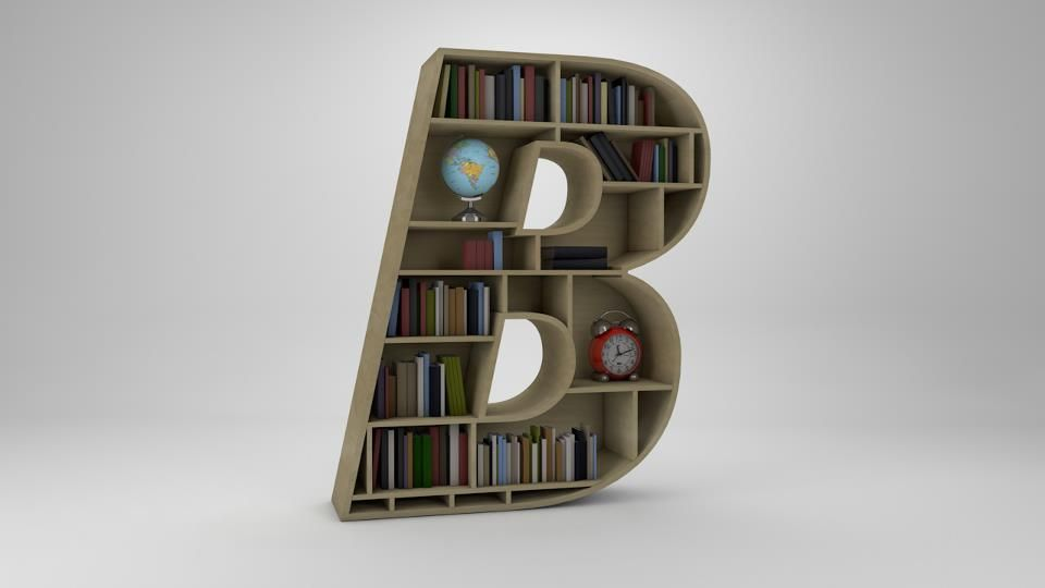 Your favorite letter bookcase