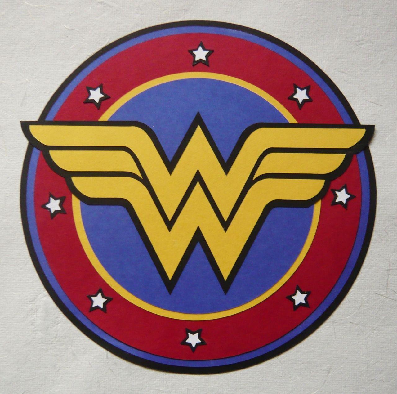 Wonder Woman Logo Template Wonder Woman Paper Logo