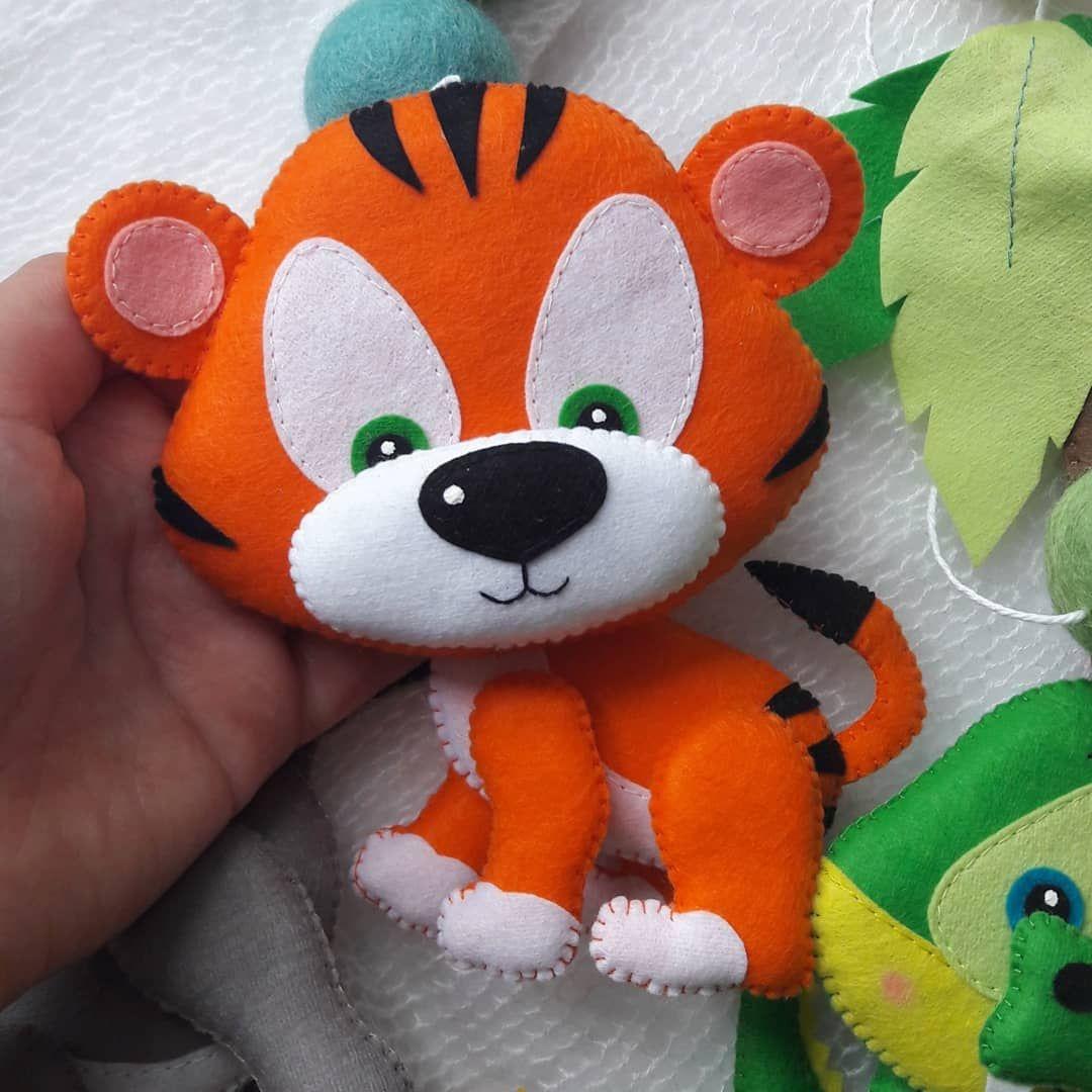 Bichinhos De Feltro Com Imagens Brinquedos De Feltro