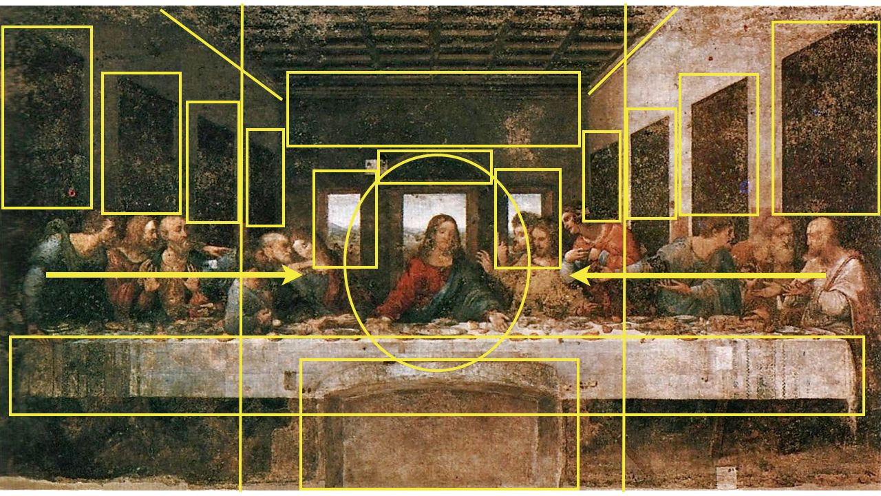 The Last Supper Original Painting by Leonardo Da Vinci ... Da Vinci Last Supper Original