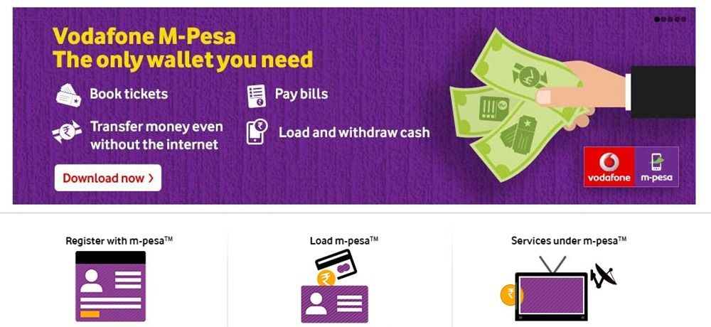 Vodafone MPesa Digital Wallet Users Can Now Withdraw Cash