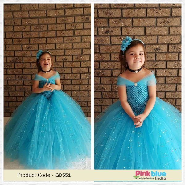Baby Cinderella Tutu Dress - Disney Princess Cinderella Tutu Costume -  Flower Girl Birthday Dress - Toddlers Tutu Gown Dress a9182faa44c2
