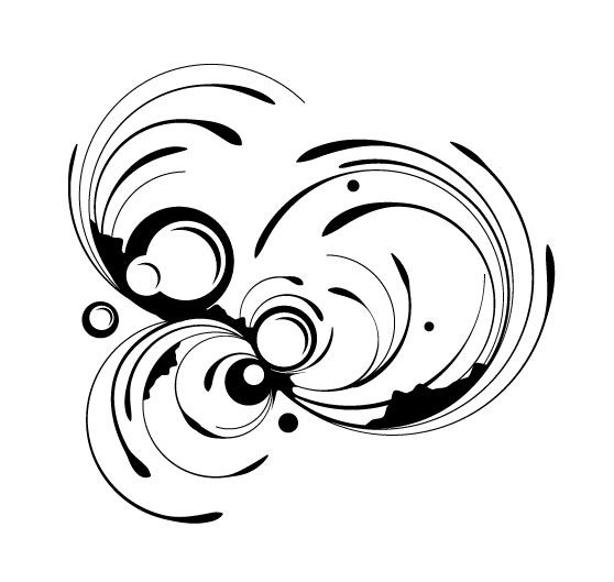 illustrator quick tip create decorative swirls in minutes using the rh pinterest com graphic swirls free vector graphic swirl designs