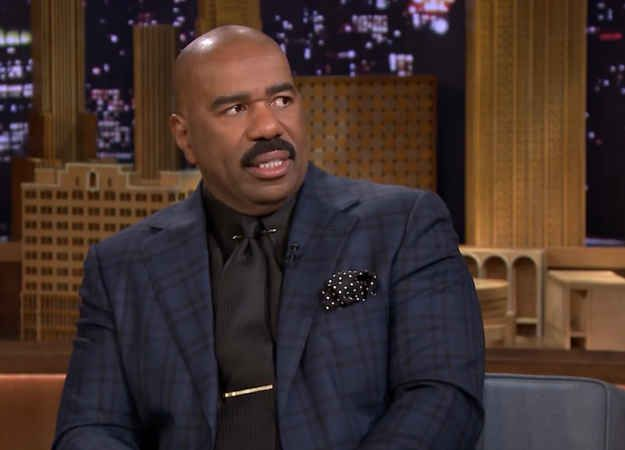 Steve Harvey was recently on The Tonight Show and Jimmy Fallon asked about him about the celebrity episode of Family Feud starring the family from Honey Boo Boo . | Steve Harvey Talking About What It Was Like To Work With Honey Boo Boo's Family Is Everything