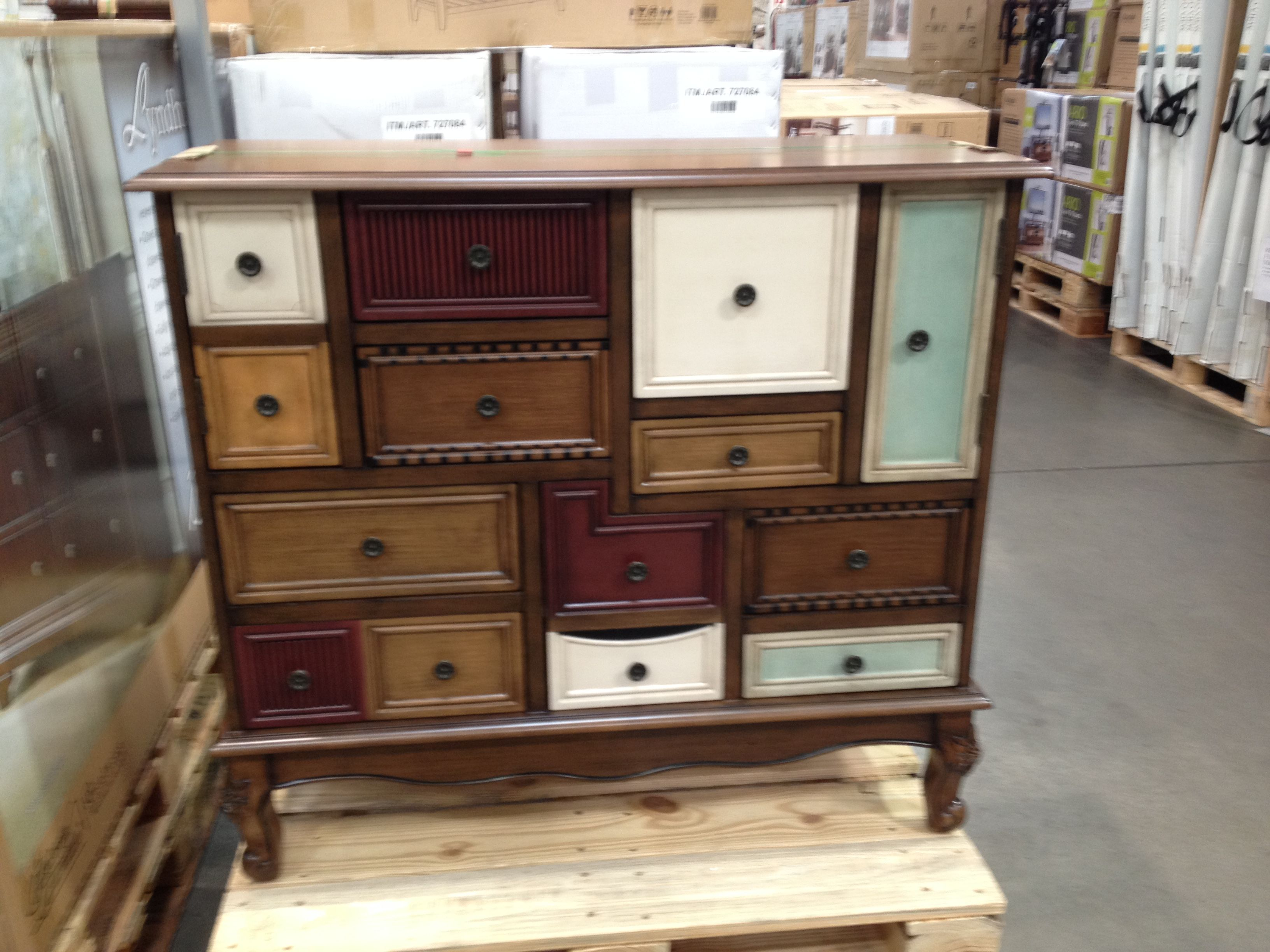 costco chest with all different sizes