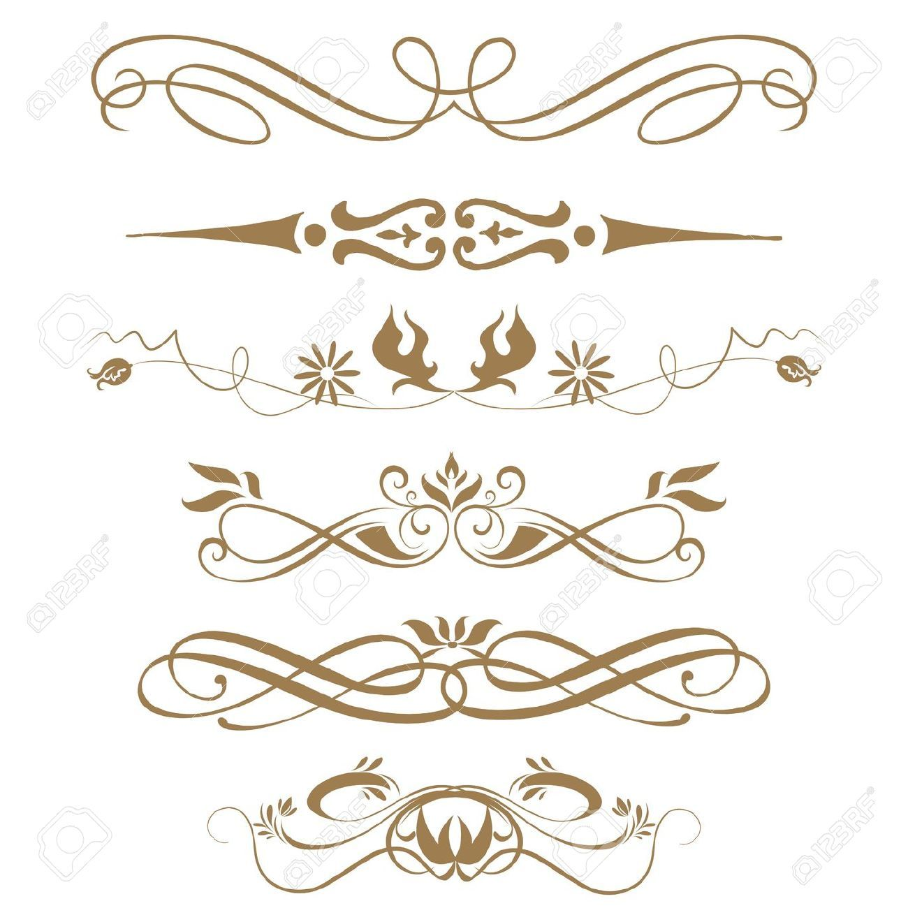 Medieval calligraphy border designs google search