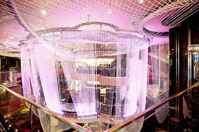 The Chandelier At Cosmopolitan Hotel In Las Vegas