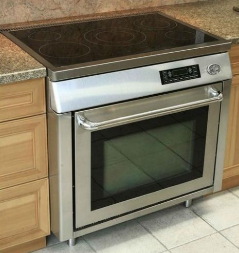 Kitchen Island With Slide In Stove appeals to the minimalist in me ~ diva-365-five-burner-36-inch