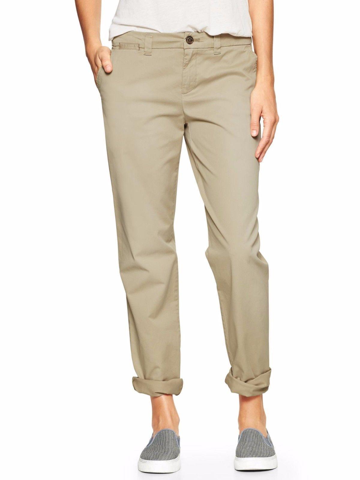 Gap Inv1 Nwt Products Womens Pants 30 In Broken Ins Khaki q8fB56x8