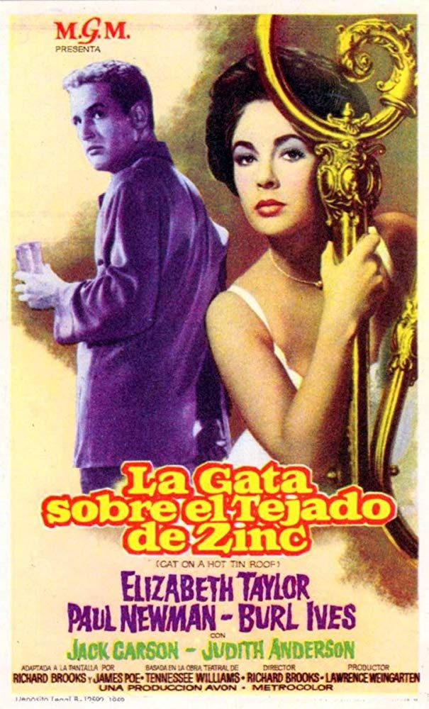 Cat on a Hot Tin Roof (1958) IMDb Classic movie