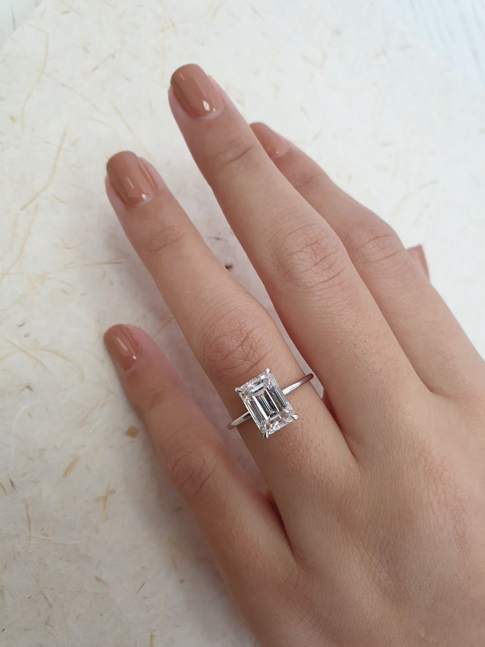 2.70 carat Emerald engagement ring 💍