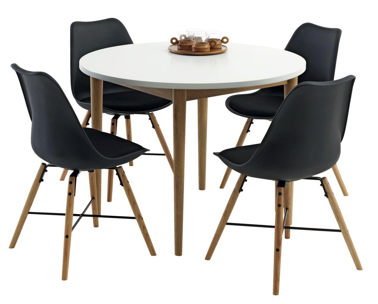 RISSKOV Asztal Tm100 4 KLARUP Szk