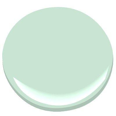 benjamin moore - leisure green   condo: paint - benjamin moore