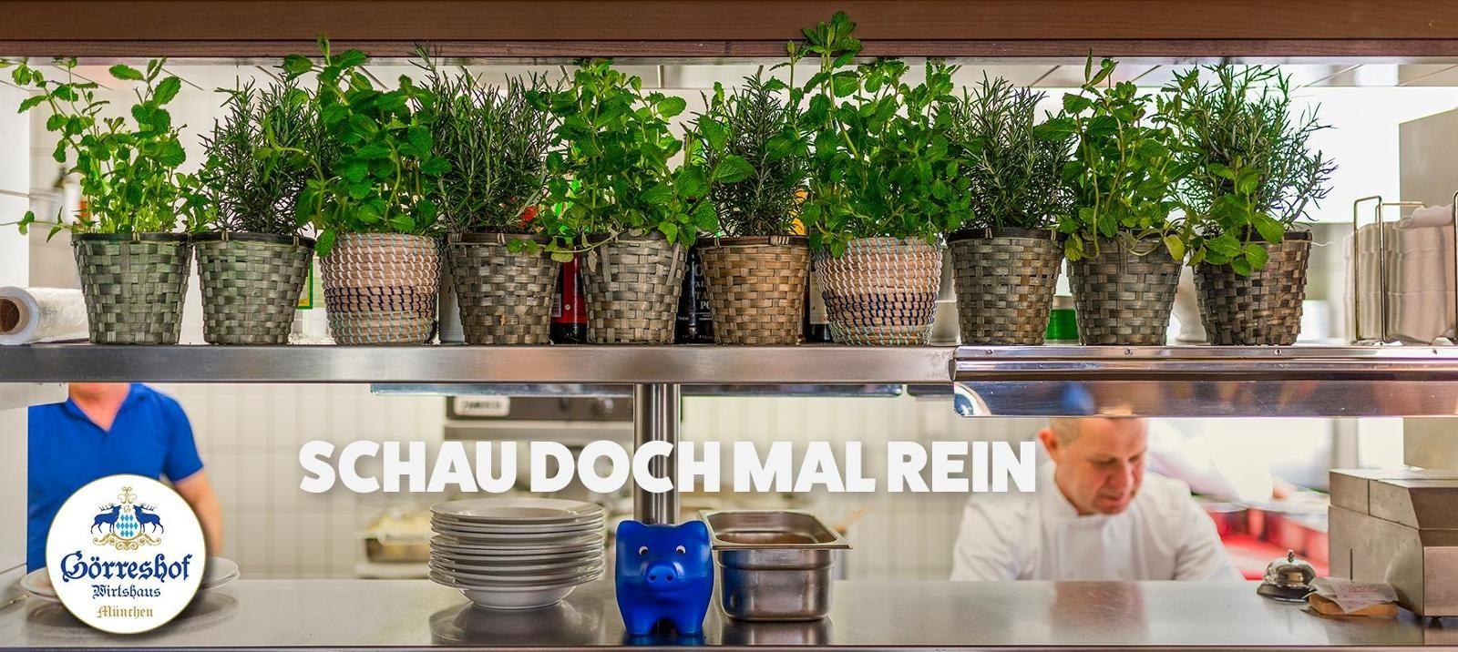 Jeder wuerde gerne mal zusehen ? Wir wollen es jedem zeigen.     Schau doch mal rein in unsere Kueche, es lohnt sich.    Goerreshof - Dein bayerisches Restaurant in Muenchen   www.goerreshof.de #Goerreshof #bayerisches #Wirtshaus #Restaurant #Biergarten #Muenchen #Maxvorstadt #Schwabing #Augustiner #bayrisch #guad #Traditionshaus #bavarian #placetobe