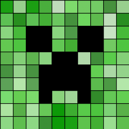 Creeper Kandi Pattern Minecraft Beads Fuse Bead Patterns Minecraft Perler