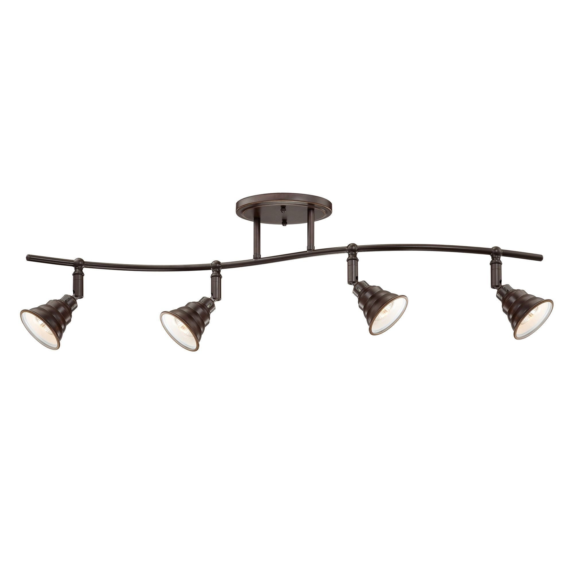 Quoizel eastvale 4 light ceiling track light reviews wayfair shop quoizel eastvale ceiling track light at lowes canada find our selection of track lighting kits at the lowest price guaranteed with price match off aloadofball Images