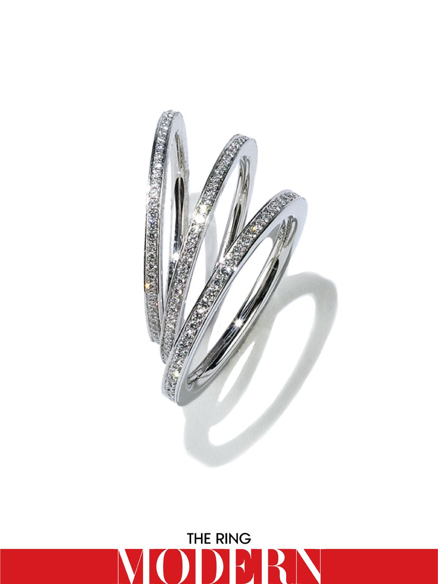 a that center gold eye magazine diamond whirl detail rings platinum princess catch engagement beeghly band with cost bands intricate wedding beauty ring your carat around all white cut