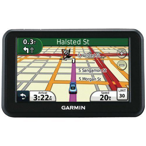 "Garmin nüvi 40 4.3-inch Portable GPS Navigator(US Only) by Garmin. $81.69. nüvi 40 delivers you safely wherever life takes you. Designed to make navigation easy, simply enter an address and premium features including lane assist with junction view, help you make all the right turns!Start out for your destination and leave the navigating to nüvi 40.   This device features a 4.3"" (10.92 cm) touchscreen and provides   accurate, turn-by-turn directions that speak street nam..."