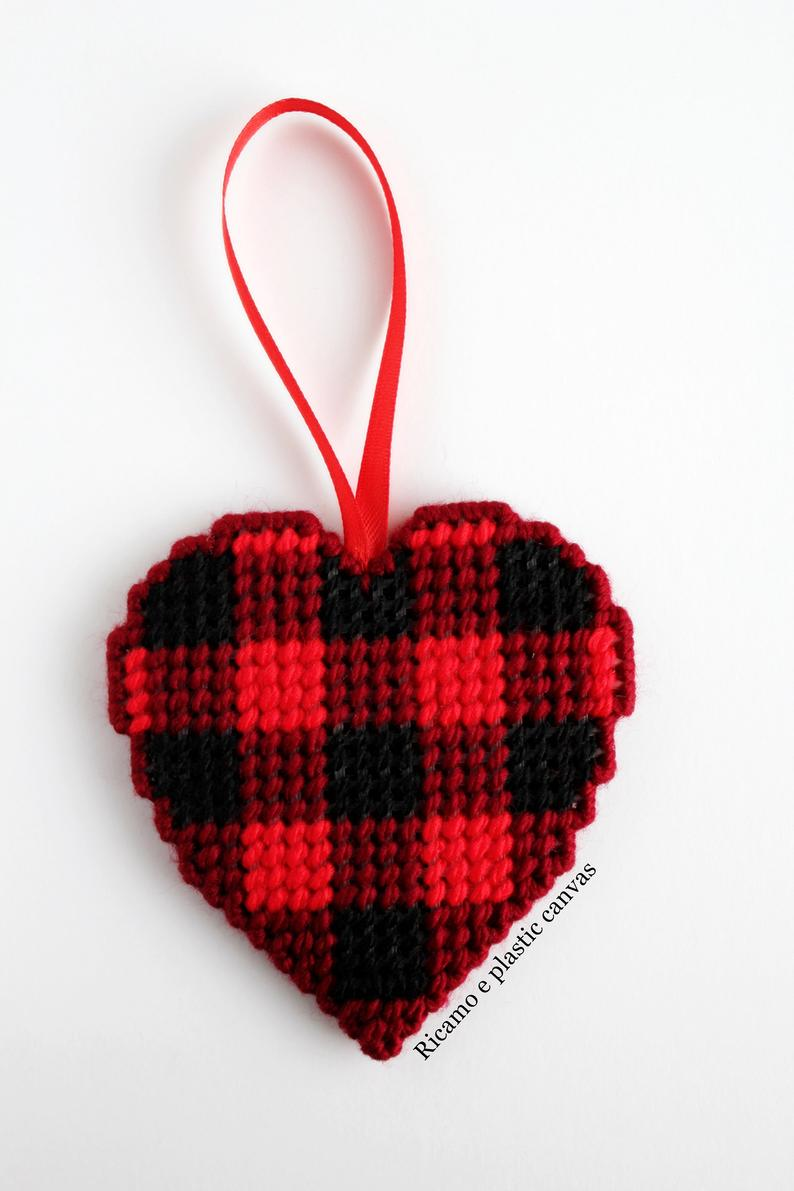 Christmas heart decoration for Christmas tree decorations |  AND…
