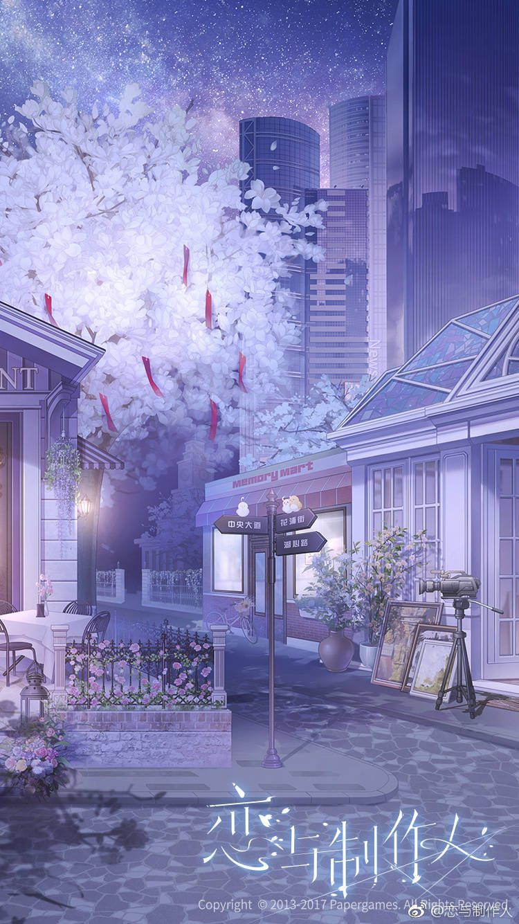 Cute Streets Are Not In Every City Cute Streets Are Not In Every City Animebackgrounds An In 2020 Anime Scenery Wallpaper Scenery Wallpaper Anime Scenery
