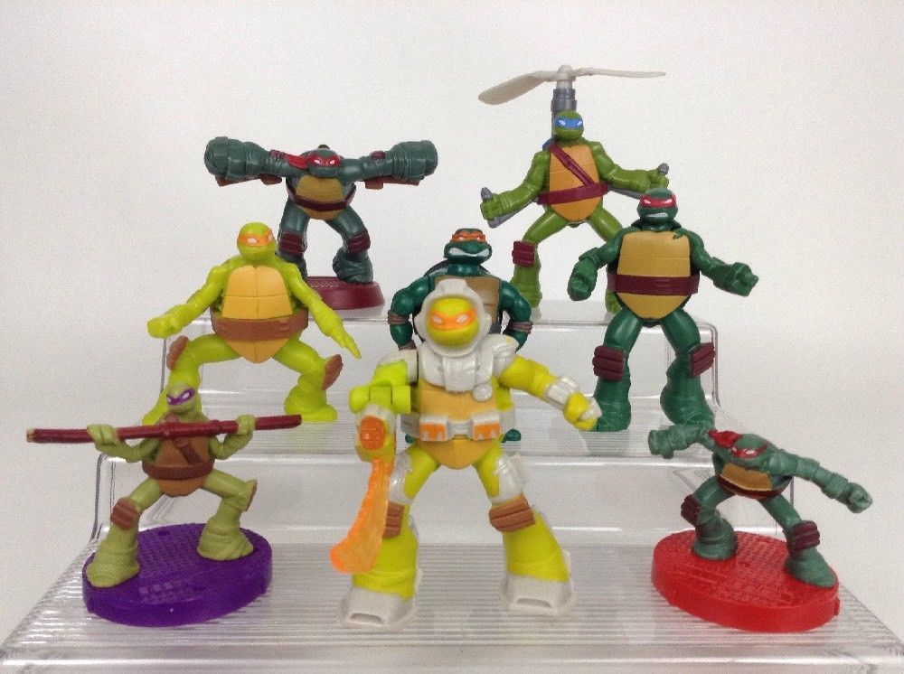 Teenage Mutant Ninja Turtles Minimates Lot Of 6 New//Sealed Age 8 Diamond Select